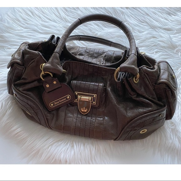 [Juicy Couture] Brown Soft Leather Bag